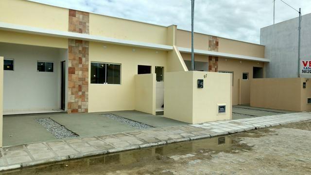 Casas térreas Condomínio 2 suítes Palmeira Imperial