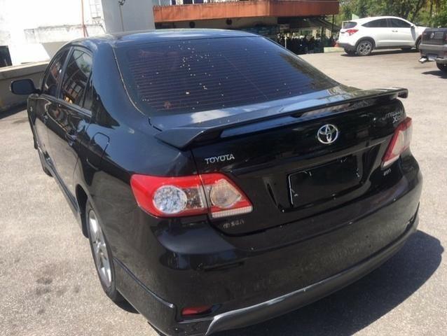 Toyota Corolla xrs 2.0 flex automatico top com gnv 5 geraçao muito novo preço real - Foto 9