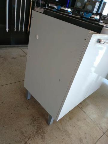 Balcão Cooktop MDF Cacau IG2A-80 2 Portas P/ Cooktop 5B - Foto 3