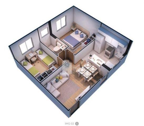 Apartamento pne 02 quartos no afonso pena, são josé dos pinhais - Foto 20