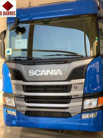 Scania P320 8x2 Aut Chassis 2021