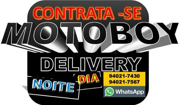 Contrata- se Motoboy para Delivery. Otimos ganhos