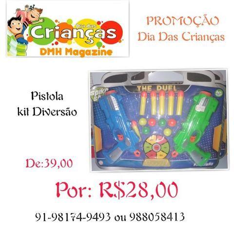 Pistola Kit De Diversao