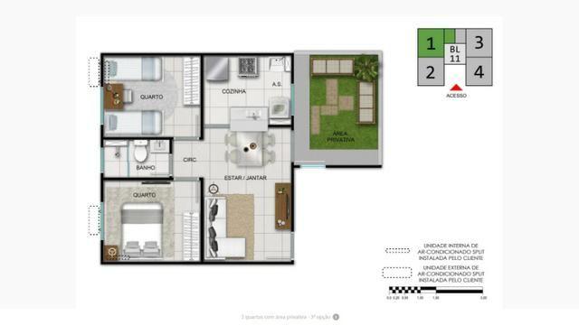 Complexo Fonte das Artes-2 quartos na Messejana- - Foto 9