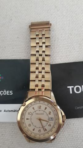 b21a0c7cf02 VENDO ou TROCO (Por PANDORA de prata) Relógio touch original ...