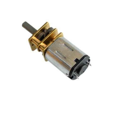 Mini Motor DC N20 6V 200RPM Com Caixa Redução