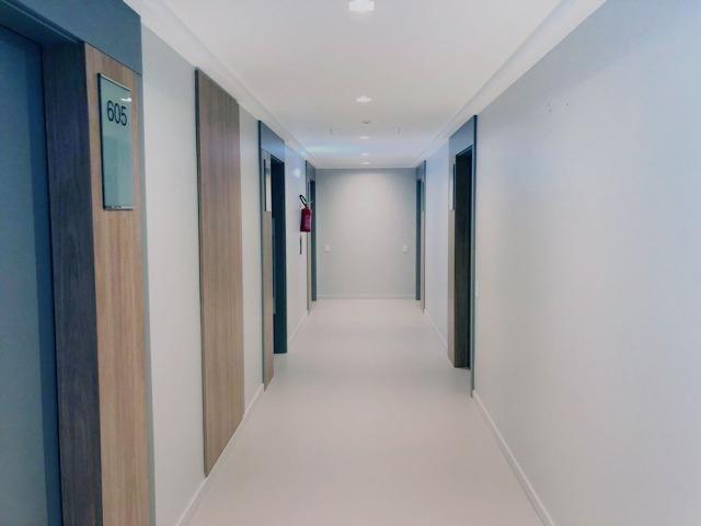 Ampla sala comercial nova com garagem para alugar em Campinas São José - Foto 7