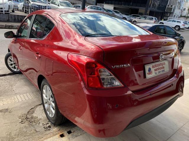 Nissan Versa SV 1.6 2018/2018 Completíssimo Financie Sem Entrada - Foto 4