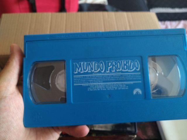 VHS O mundo proibido  - Foto 3