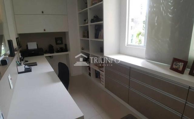 (ELI46095) Apartamento Duplex no Cocó 165m², 3 Suites, Todo Projetado, 3 Vagas - Foto 3