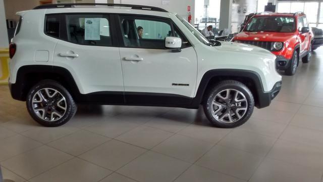 Jeep Renegade Longitude Diesel 2019/2020 - Na cor Branco Ambiente - Foto 4