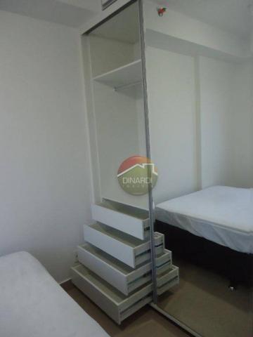 Apartamento com 1 dormitório para alugar, 37 m² por R$ 1.500,00/mês - Ribeirânia - Ribeirã - Foto 8