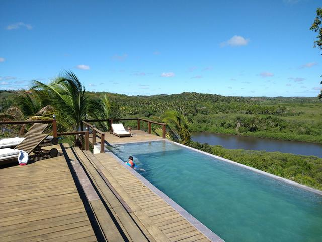 Casa de luxo 5 suites e wi-fi. 100 km de praia do Forte. Vista Paradisiaca - Foto 16