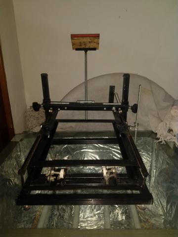 Máquina De Silk Cilíndrica e Mesa de Revelação