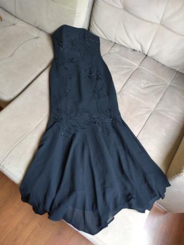 Vestido de festa bordado (IMPECÁVEL) - Foto 2
