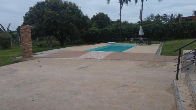 Aluga chácara com piscina Cond. Estância Primavera 2 - Foto 16