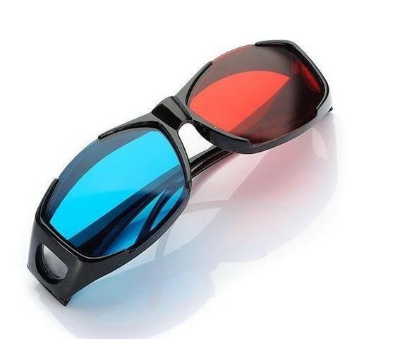 Óculos 3D Universal Azul e Vermelho Nvidia Vision - Realengo - Foto 3