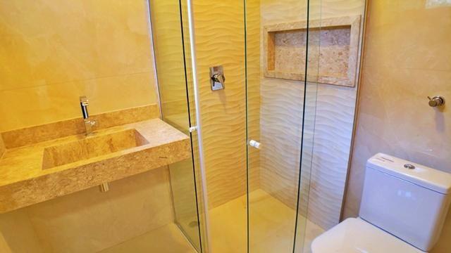 Casa 3 Suítes + Escritório, 183 m² c/ lazer no Condomínio Mirante do Lago - Foto 12