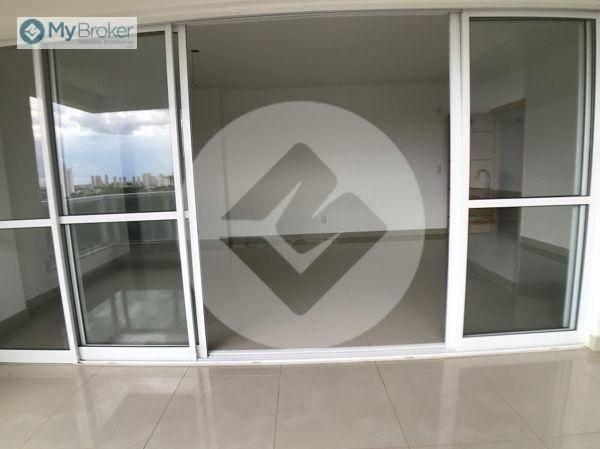 Apartamento com 3 dormitórios à venda, 113 m² por R$ 597.000,00 - Setor Bueno - Goiânia/GO - Foto 7