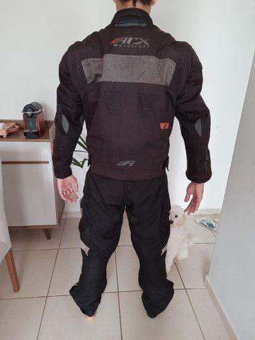 Jaqueta e calças motociclista - Foto 4