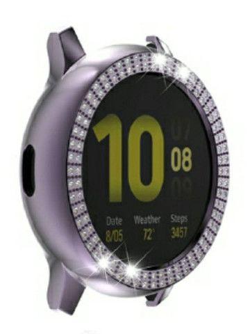 Case de proteção relógio Galaxy Watch Active 2 - Foto 5
