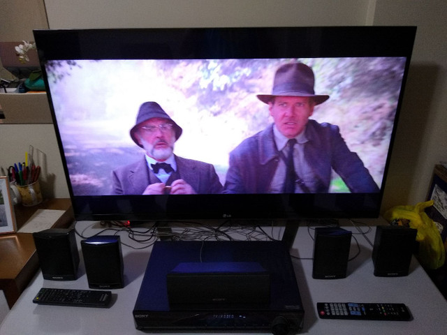 "TV LG 3D 47"" Full HD + Home Theater 5.1 Sony - Foto 3"