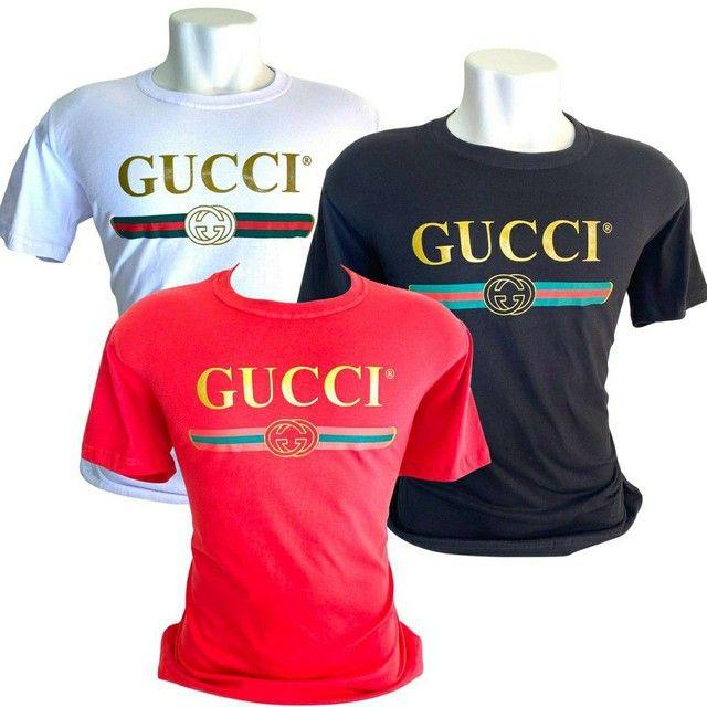 Camisetas, camisas, blusas da gucci