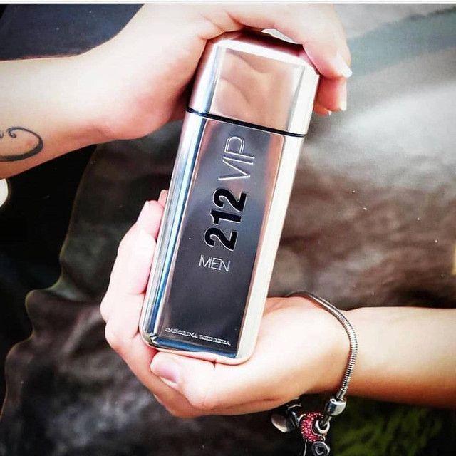 Perfume 212 VIP Men EUA de Toilette - 100ml - Foto 4
