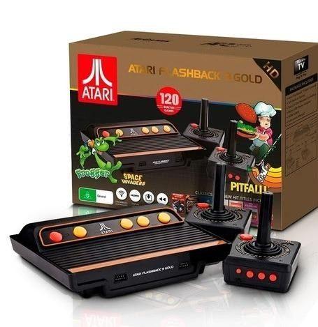 Console Atari Flashback 9 Gold HDMI (controle sem fio) Tec Toy com 120 Jogos (raro)