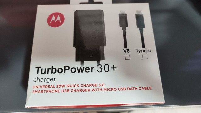 Carregador turbo Motorola Tipo C - Entregamos