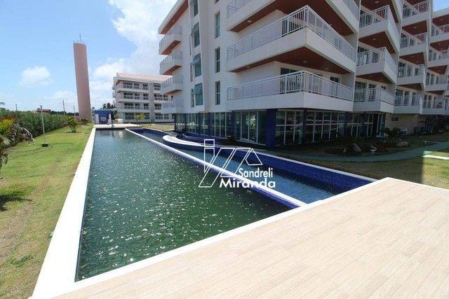 Apartamento com 3 dormitórios à venda, 87 m² por R$ 450.000,00 - Porto das Dunas - Aquiraz - Foto 8