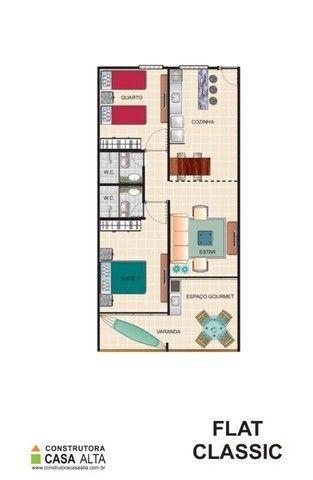 Flat Studio em 60 Meses no Hotel Fazenda Monte Castelo (em fase de construção) Ref. 144 - Foto 6