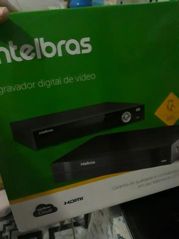 Vendo dvr Intelbrás hdcvi semi-novo