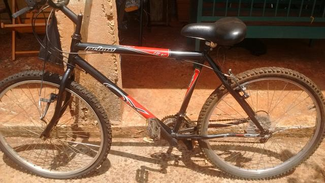 Vendi bicicleta so falta colocar a camera,vende para hj