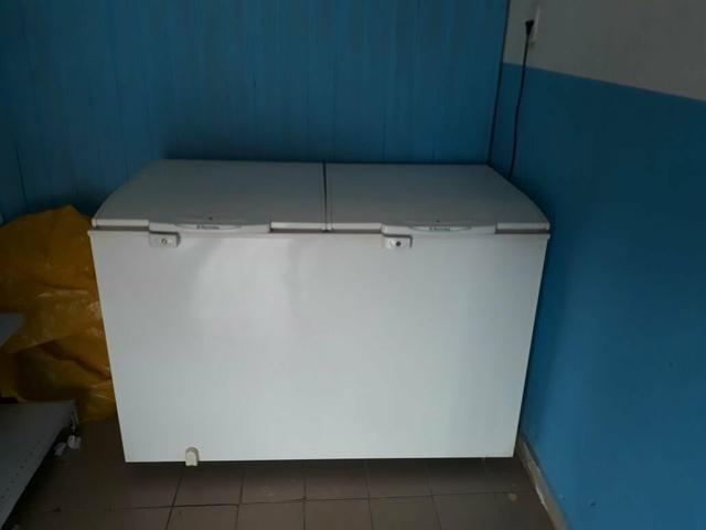 Freezer bem conservado
