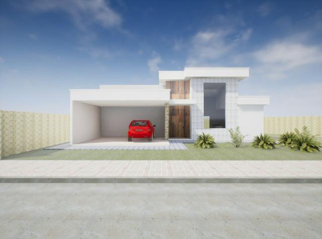 Maravilhosa casa 3 suítes, 2 garagens cobertas, condomínio estância Quintas da alvorada - Foto 2