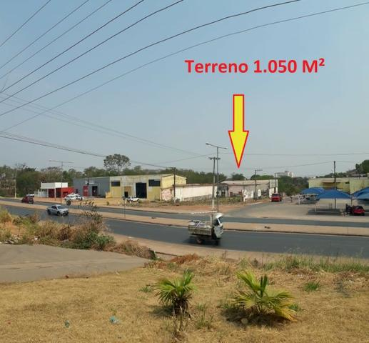 Alugo terreno e barracão comercial perto ufmt, lote com 1.050 m² - Foto 7