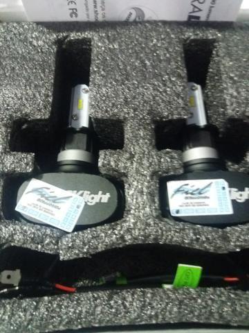 Led ultra led h3 shocklight nova na caixa garantia instalado - Foto 2