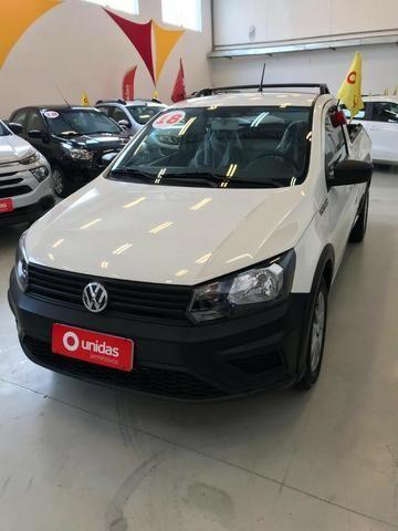 Vw - Volkswagen Saveiro 1.6 Completa / Financia Sem Entrada / Documentação Grátis