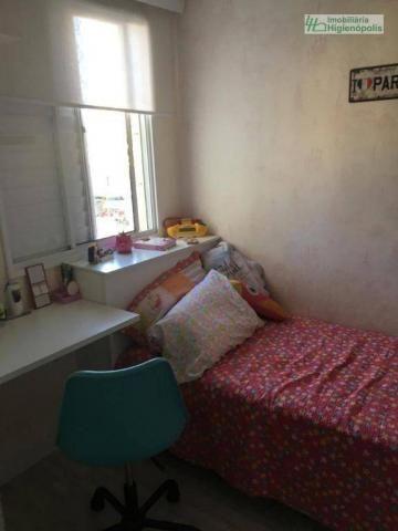 Apartamento com 3 dormitórios à venda, 60 m² por r$ 330.000 - parque bandeirante - santo a - Foto 8