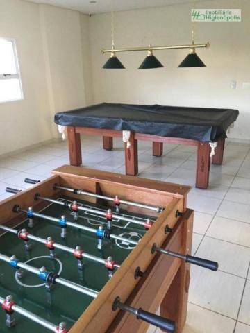 Apartamento com 3 dormitórios à venda, 60 m² por r$ 330.000 - parque bandeirante - santo a - Foto 14