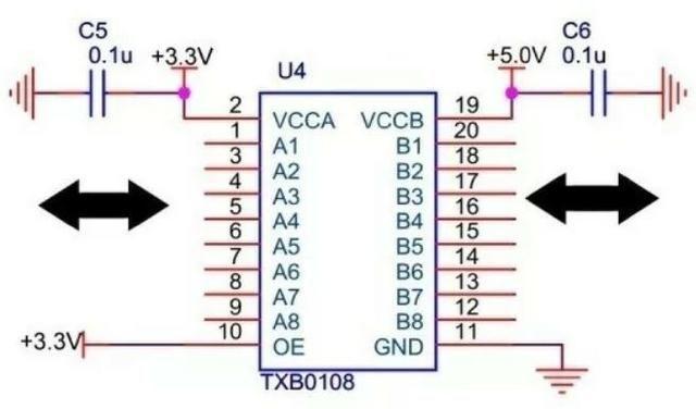 COD-AM271 Módulo Conversor De Nivel Lógico 8 Canais Txs0108e I2c Arduino Automação Rob - Foto 3