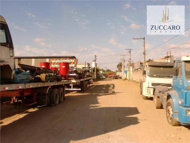 Terreno industrial para locação, vila nova bonsucesso, guarulhos - te0408. - Foto 7