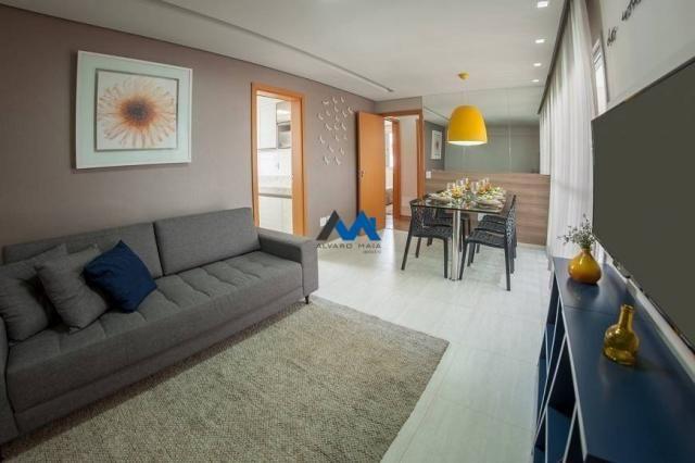 Apartamento à venda com 2 dormitórios em Santo antônio, Belo horizonte cod:ALM501 - Foto 3