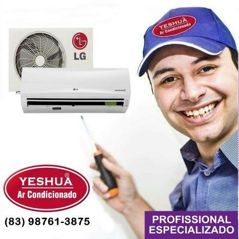 Instalação e Manutenção ar condicionado Profissional