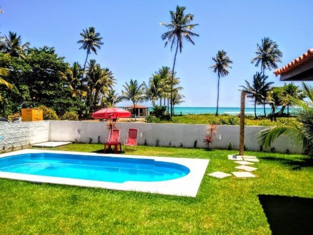 Linda Casa, Frente a Praia, Ilha Itaparica, Piscina, Cond. Fechado, Toda Mobiliada!