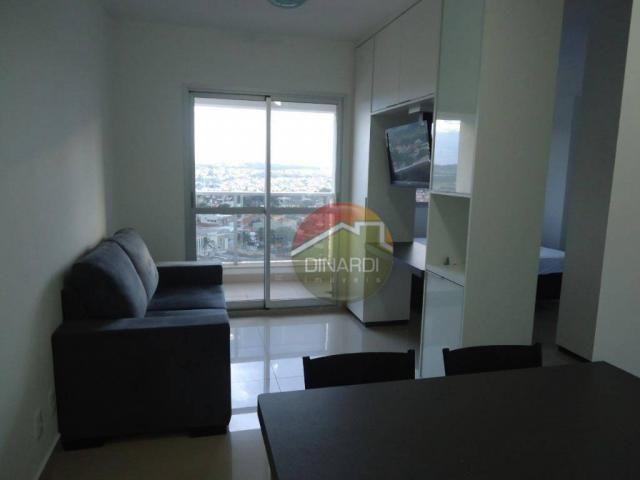 Apartamento com 1 dormitório para alugar, 37 m² por R$ 1.500,00/mês - Ribeirânia - Ribeirã