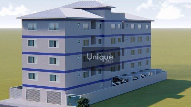 Apartamento com 1 dormitório à venda, 42 m² por R$ 195.000 - Centro - São Pedro da Aldeia/ - Foto 3