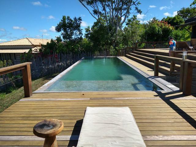 Casa de luxo 5 suites e wi-fi. 100 km de praia do Forte. Vista Paradisiaca - Foto 17