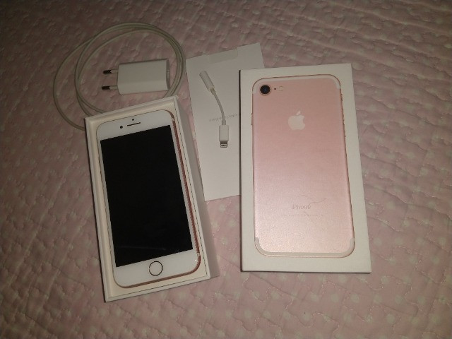 IPhone 7 ouro Rose 32gb - Foto 2